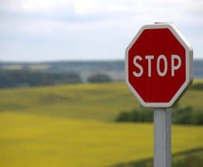 Stop Sign Dream Meaning