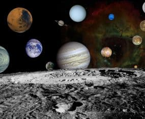 Planets and Space Dream Meaning