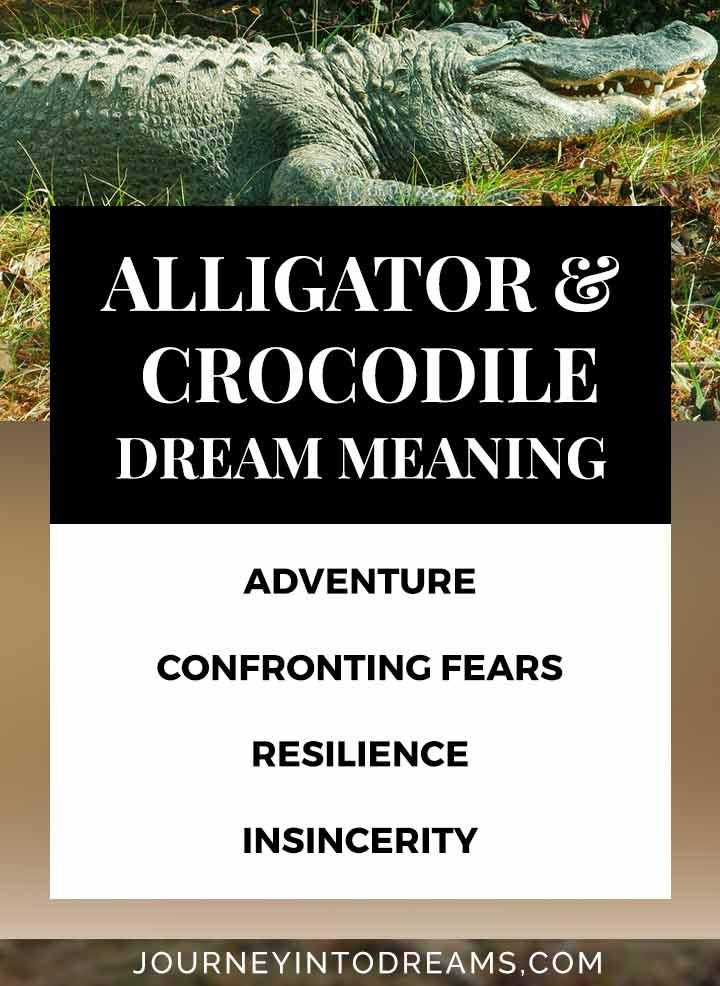 what does it mean to dream about a crocodile or alligator