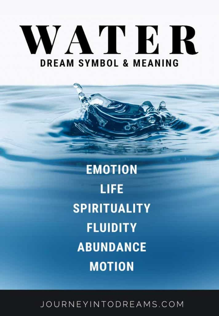 water dream symbol meaning