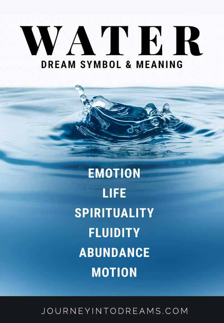 Meanings Of Animal Symbols On Tarot Cards: Water Dream Meaning Interpretation