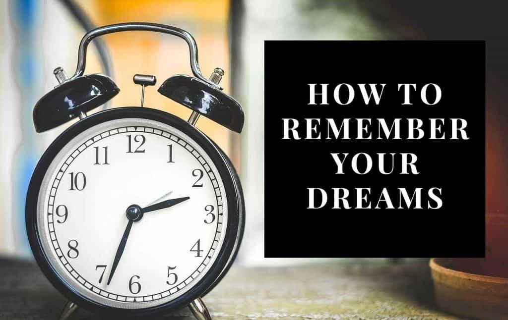 remember dreams