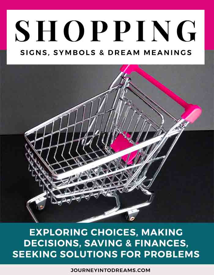 shopping dream meaning