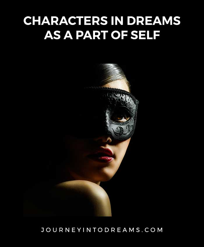 characters as part of self in dreams