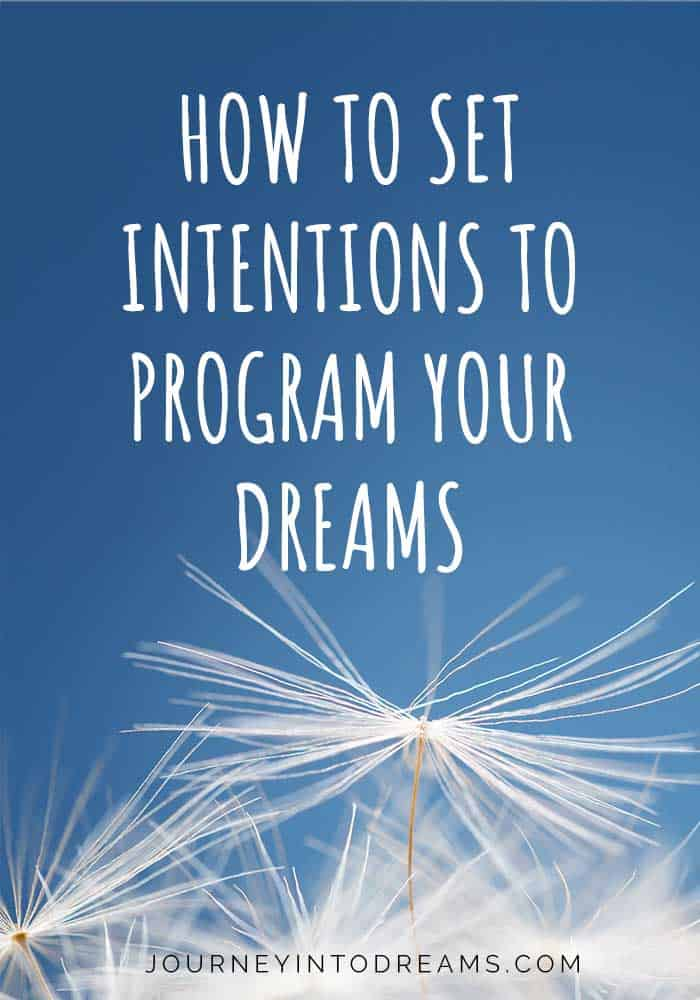 program your dreams