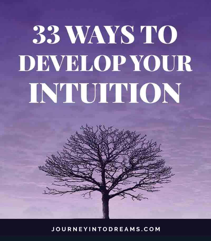 ways to develop intuition