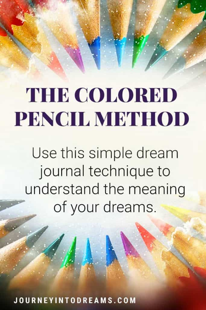 colored pencil dream interpretation technique
