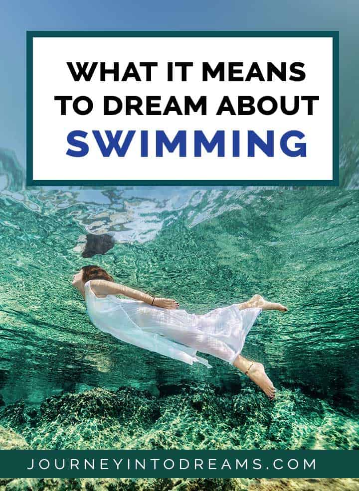 what it means to dream about swimming