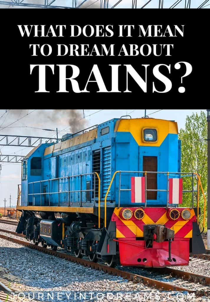 dream meaning trains
