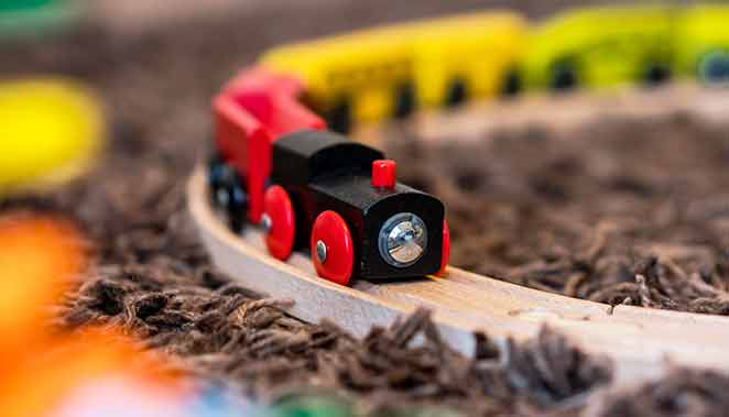 toy trains in dreams