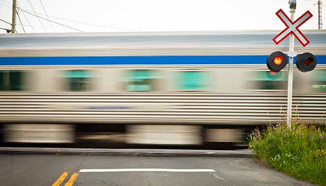 train crossing in dreams