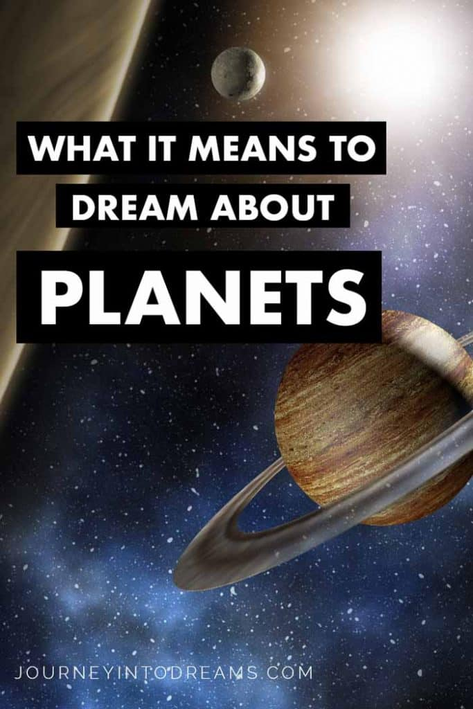 dream about planets