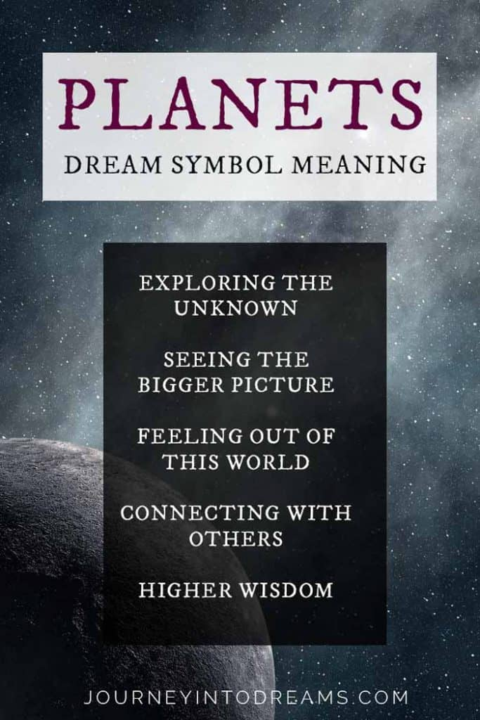 planets dream meaning symbol