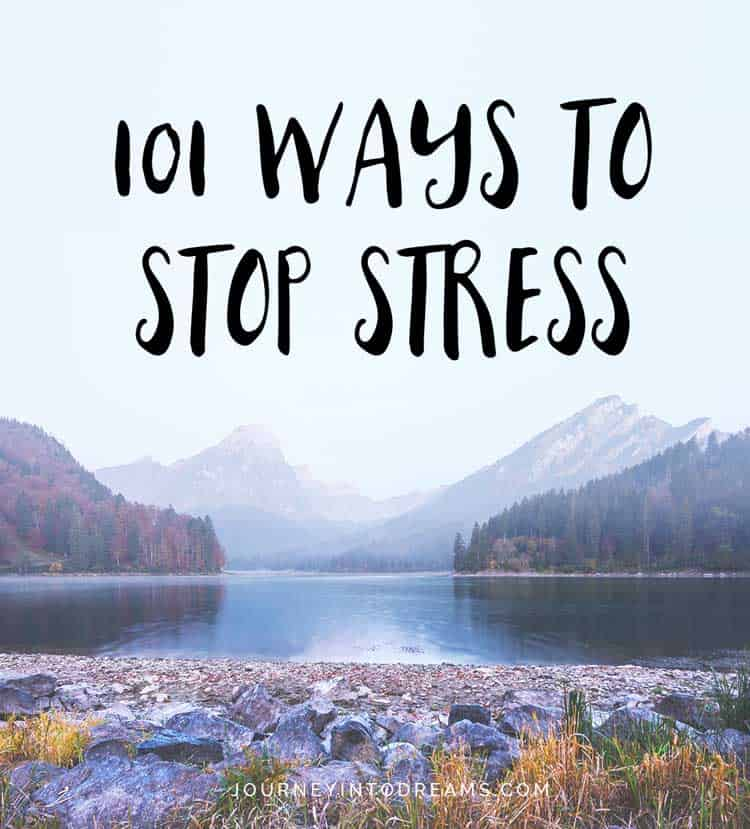 ways to stop stress