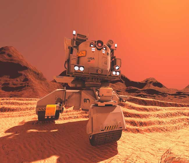 mars red rover