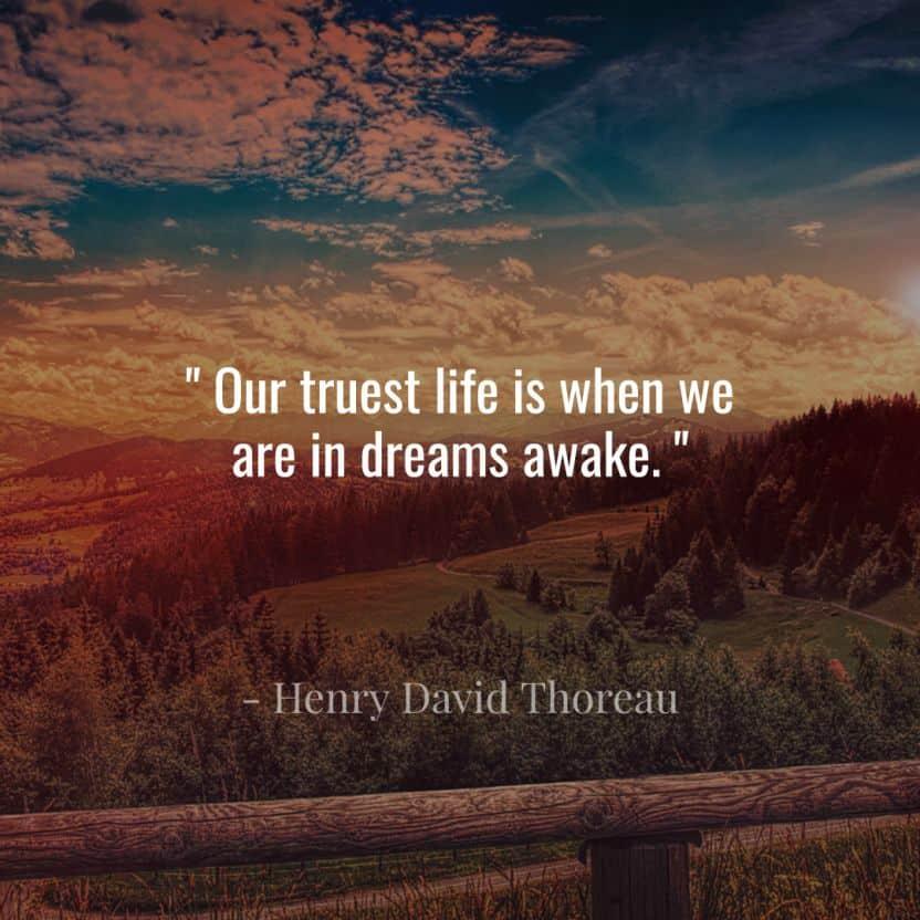 Image of Dream Quote