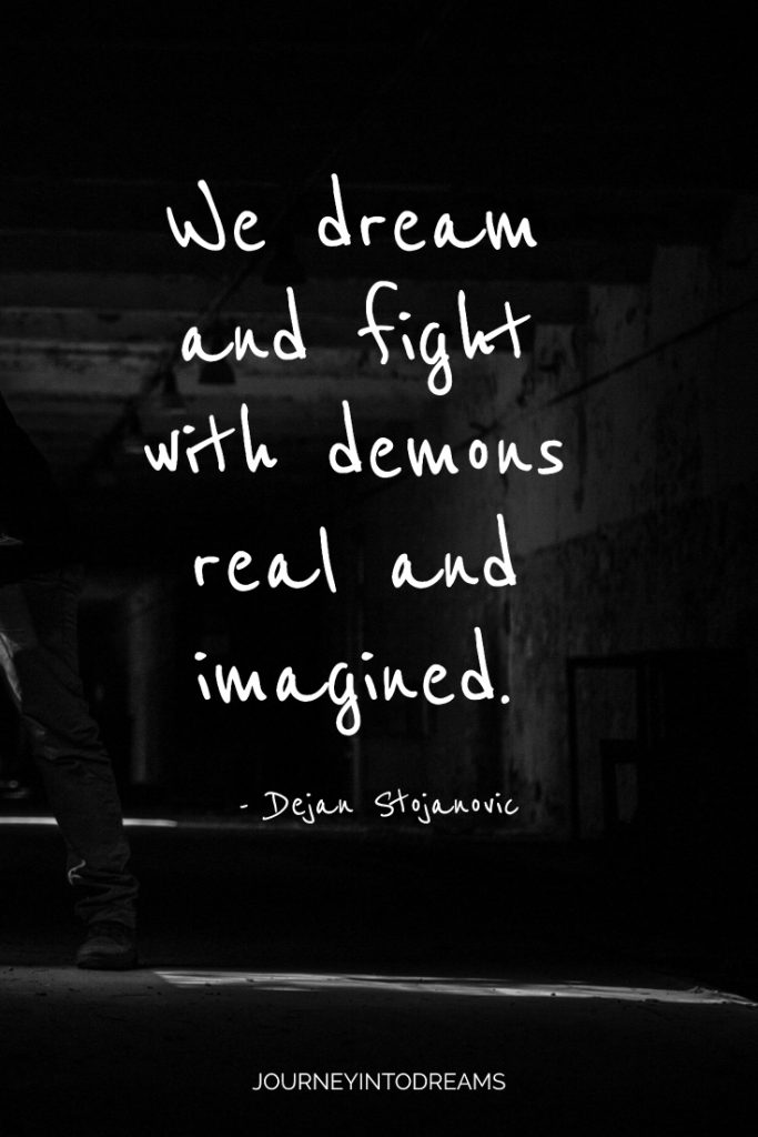 fighting with demons quote