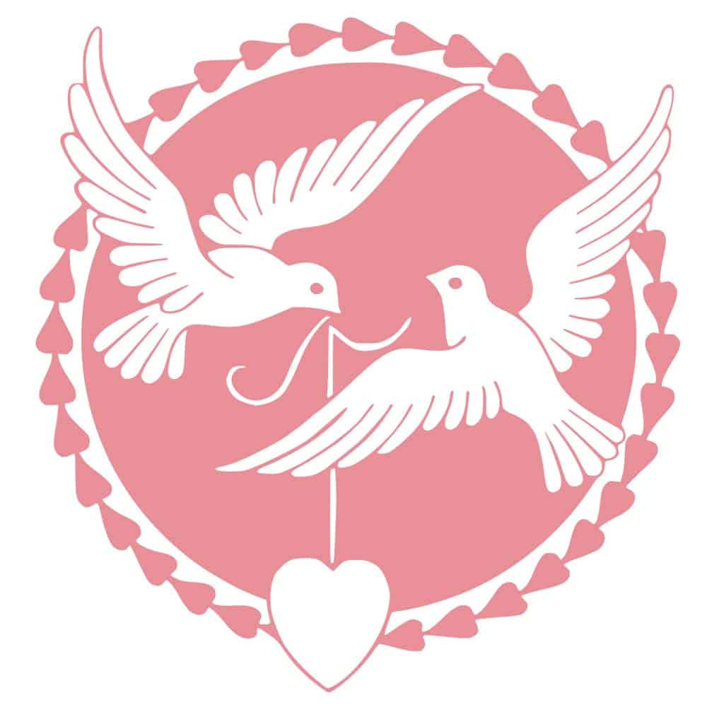 pigeons as symbol for love
