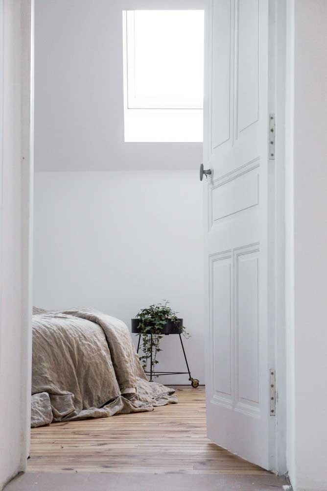 open bedroom door