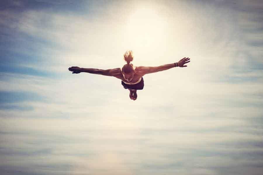 flying in dreams