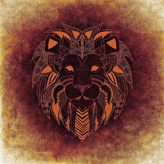 leo lion symbol