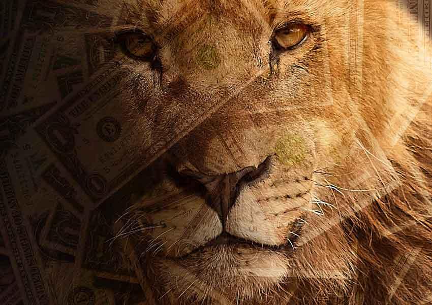 leos and money concept