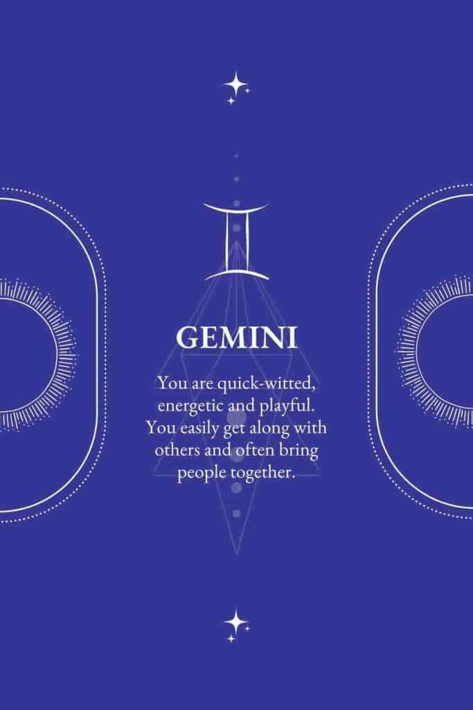 gemini positive characteristics