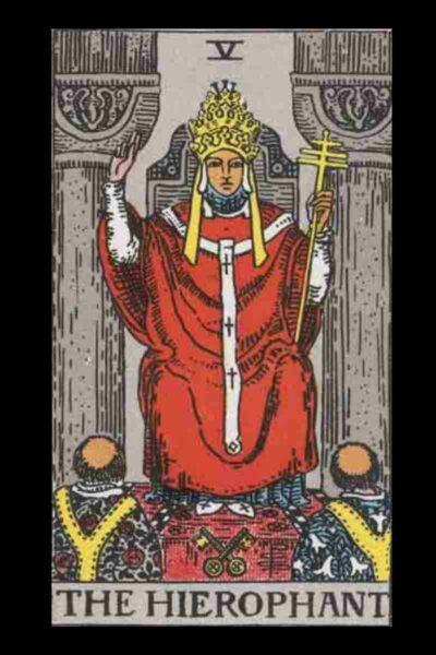 Hierophant Tarot Card Meaning