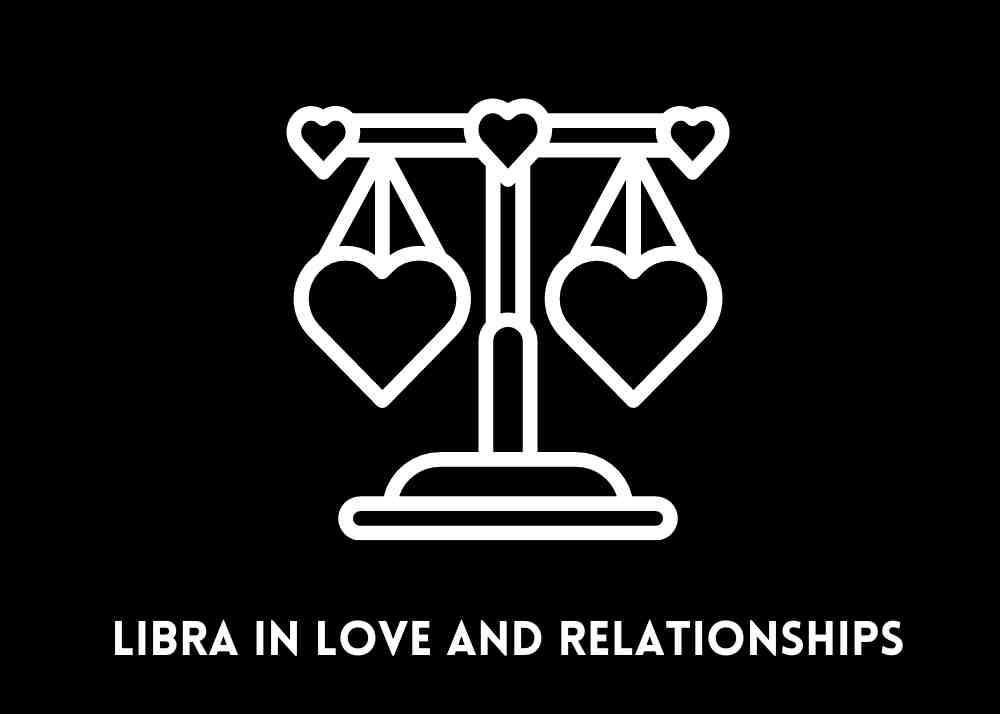 libra scales in love