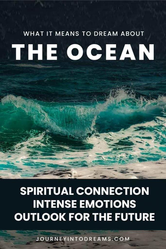 ocean dream meaning