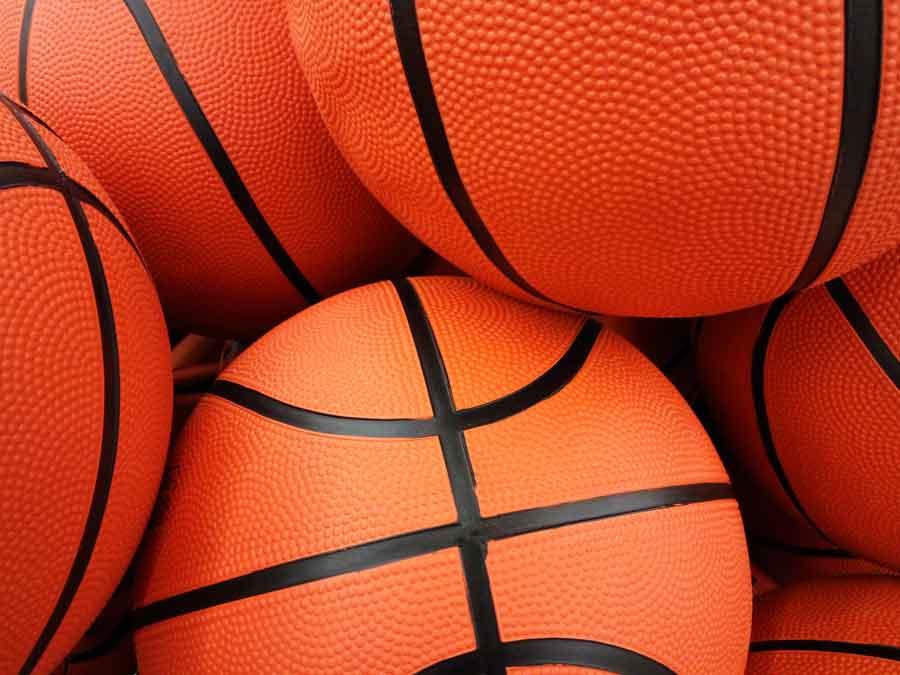 orange basketballs