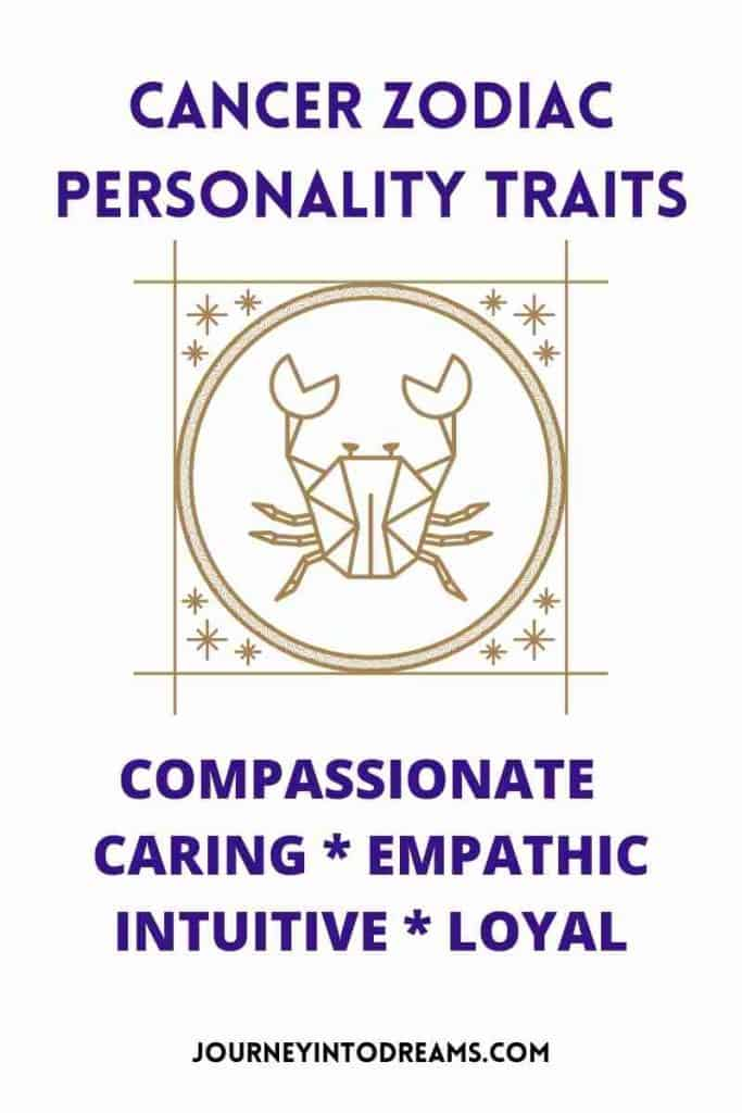 personality traits for cancer