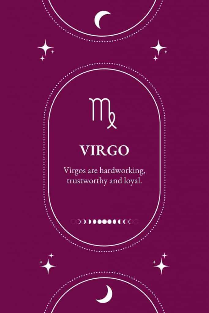 personality traits of virgo