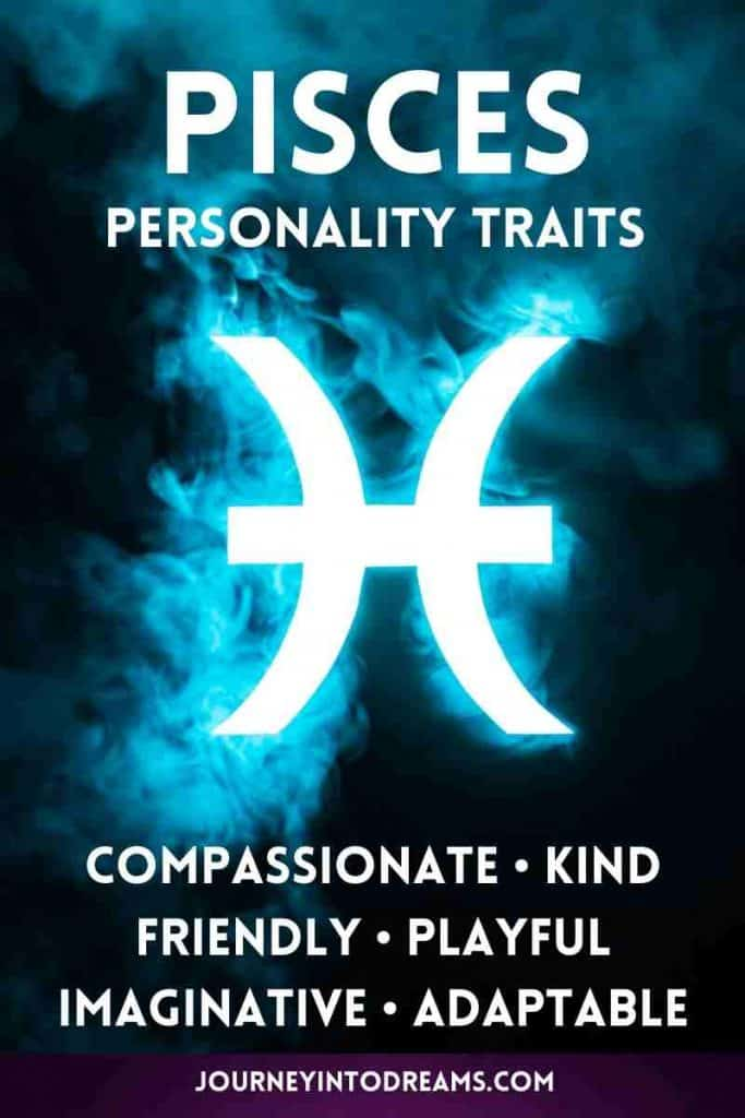 positive personality characteristics of pisces