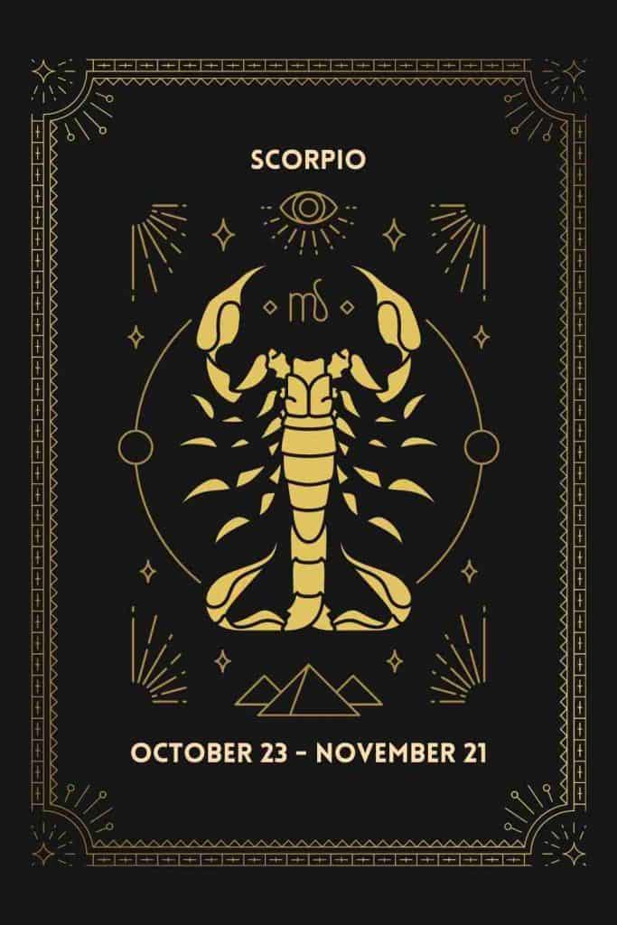 scorpio birthdate