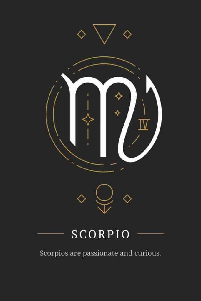 scorpio curious
