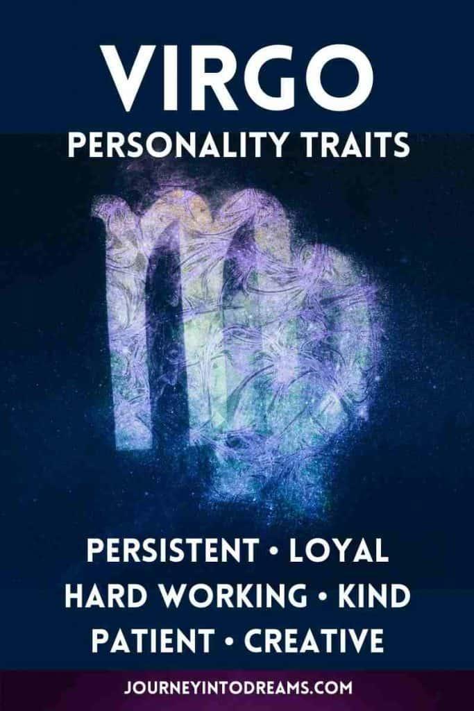 virgo personality list
