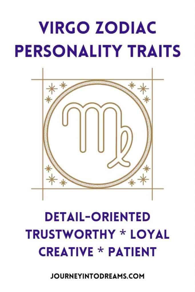virgo personality traits profile