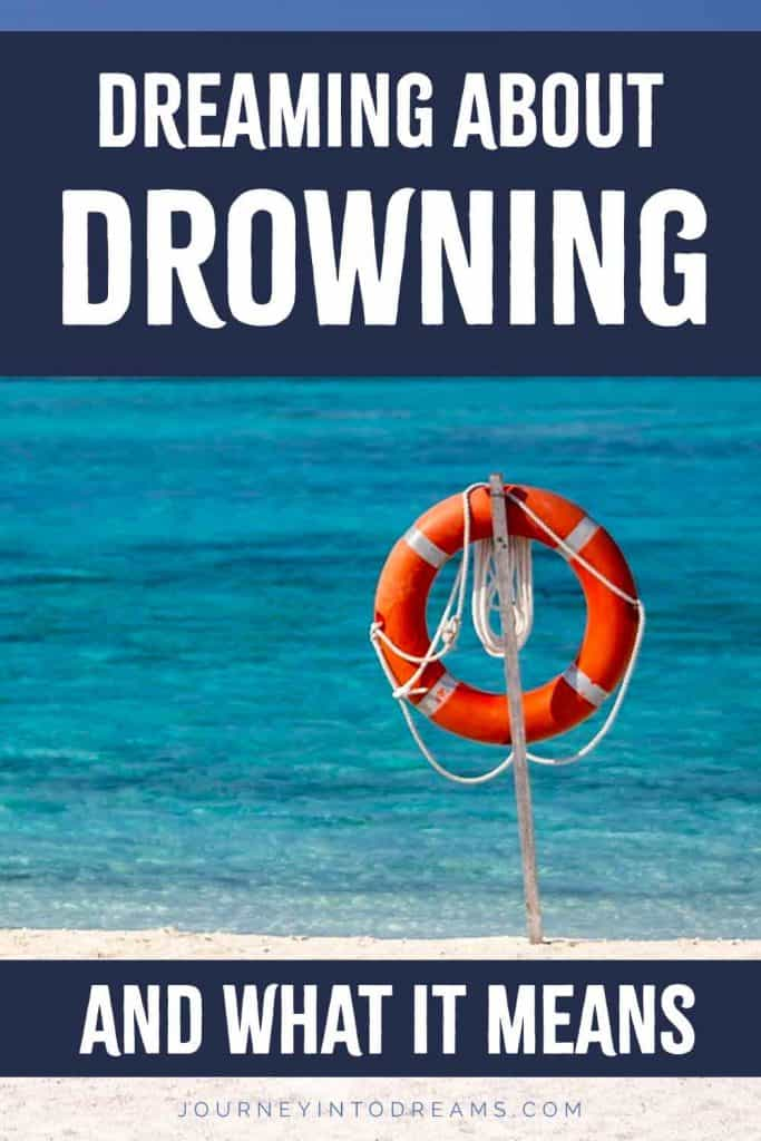 what it means to dream about drowning