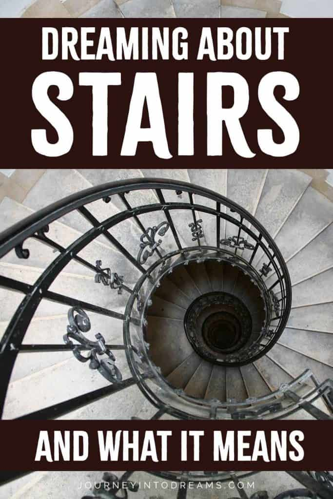 dream about stairs meaning