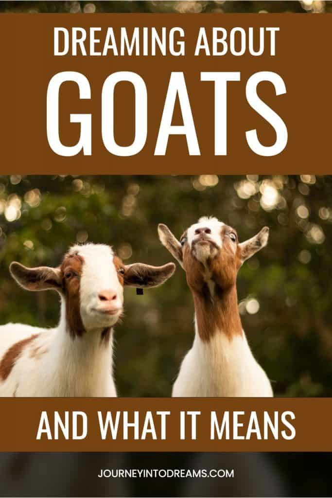 goats dream meaning