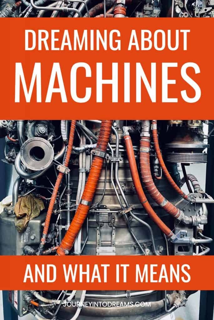 machines dream meaning